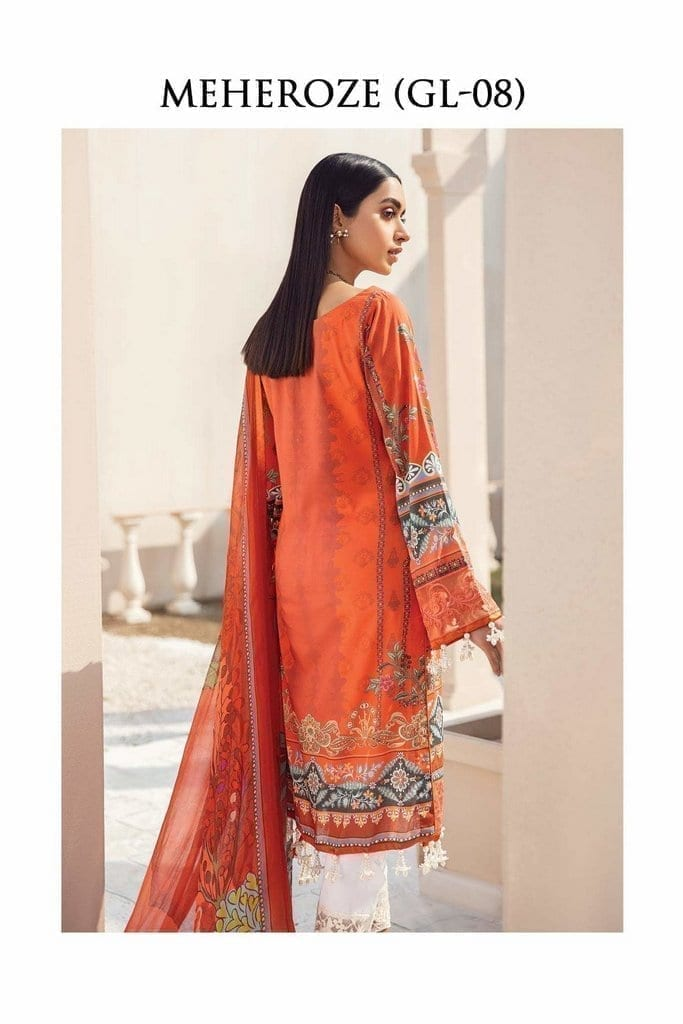 GULAAL   LAWN'21 Collection   VOL-1   GL-08
