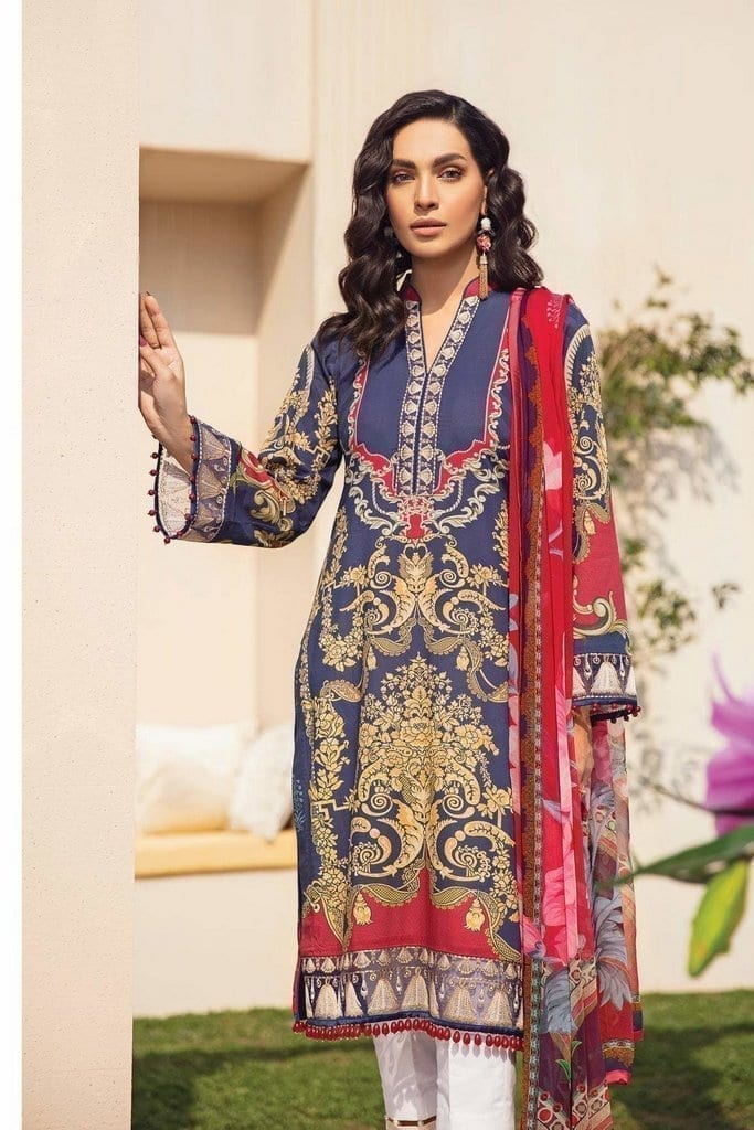 GULAAL   LAWN'21 Collection   VOL-1   GL-11