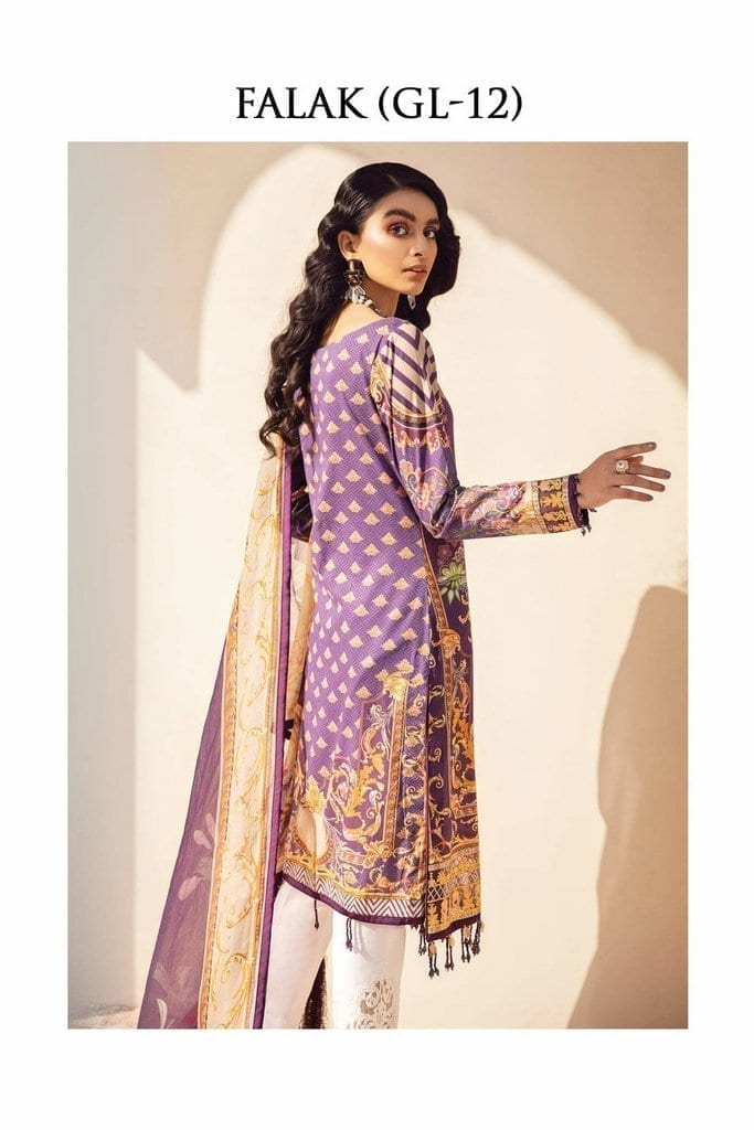 GULAAL | LAWN'21 Collection | VOL-1 | GL-12