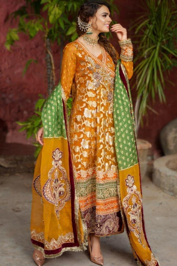 ASIFA N NABEEL | WEDDING/Formals Collection | BANO ZN-05