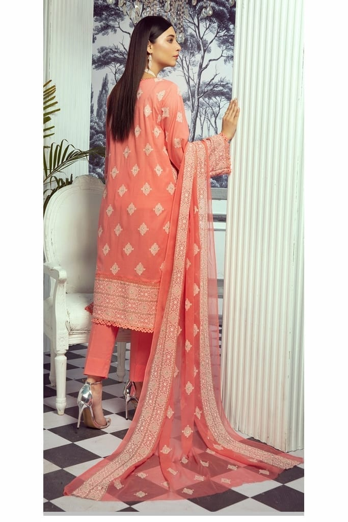 KHOOBSURAT | CLASSIC SWISS EMBROIDERED Collection | CS-312