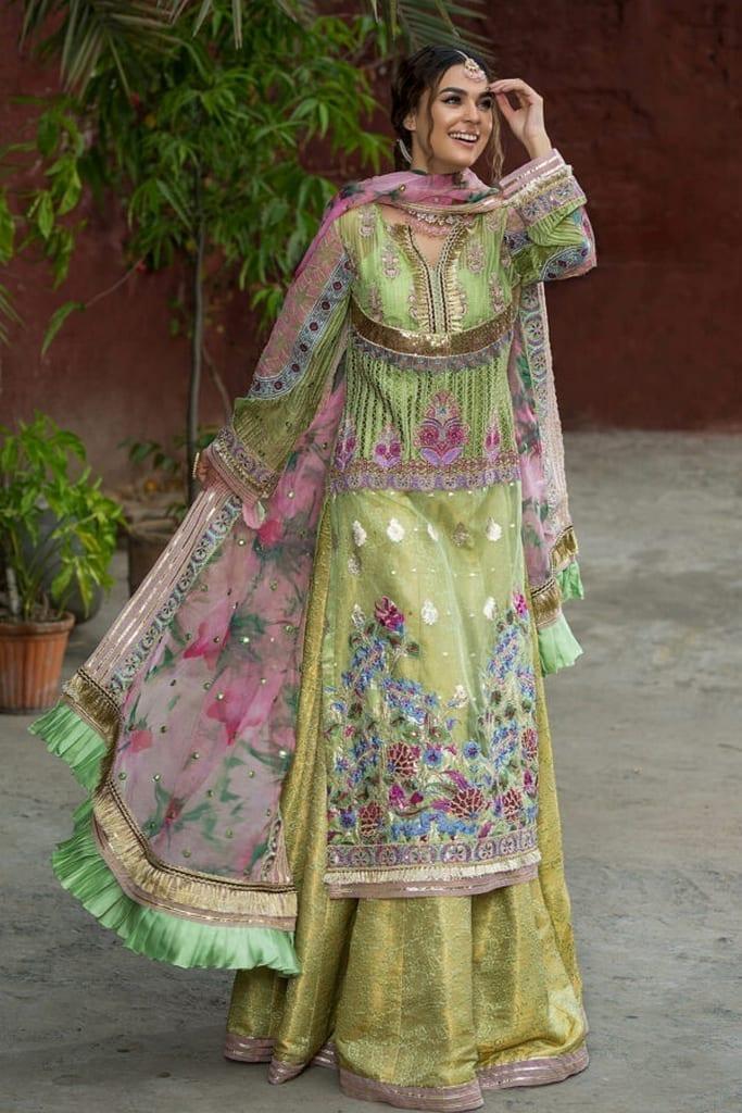 ASIFA N NABEEL   WEDDING/Formals Collection   FEROZA ZN-07