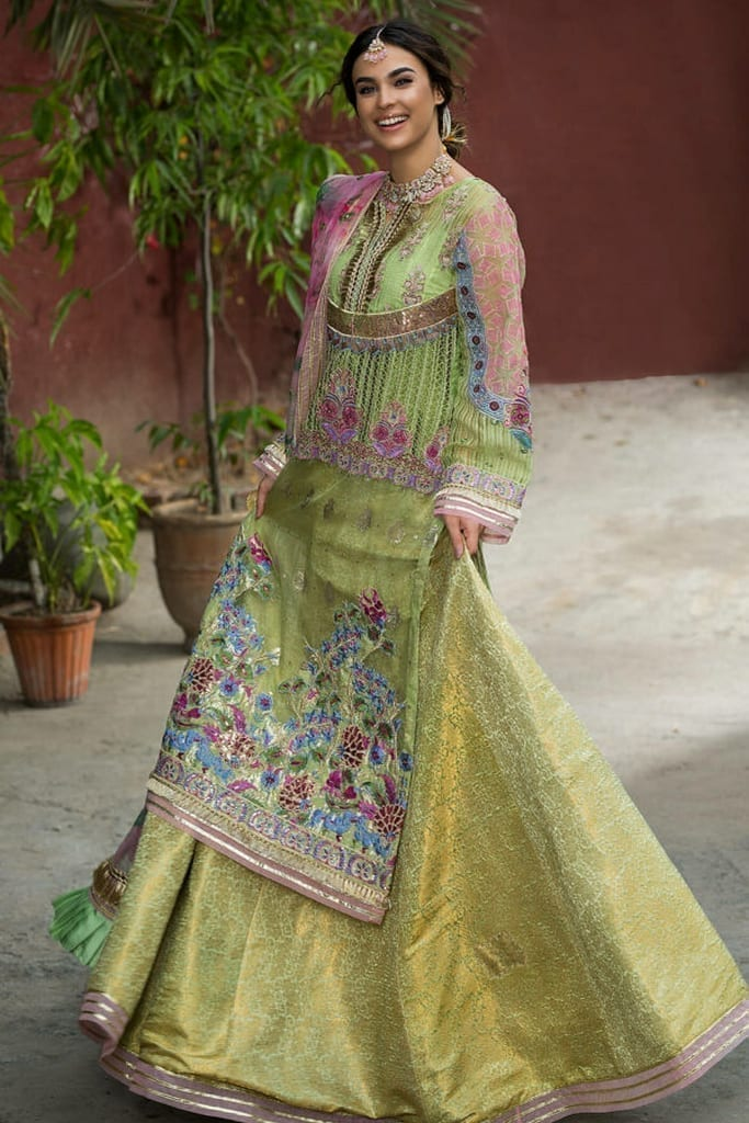 ASIFA N NASEEB   WEDDING/Formals Collection   FEROZA ZN-07
