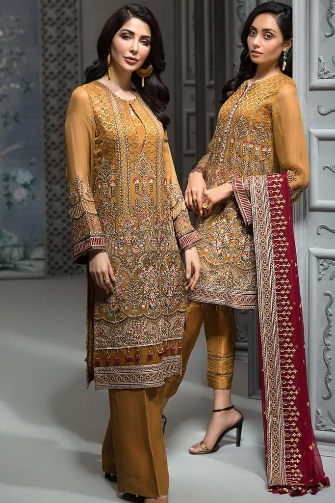 JAZMIN | EMBROIDERED LUXURY Collection | D-01