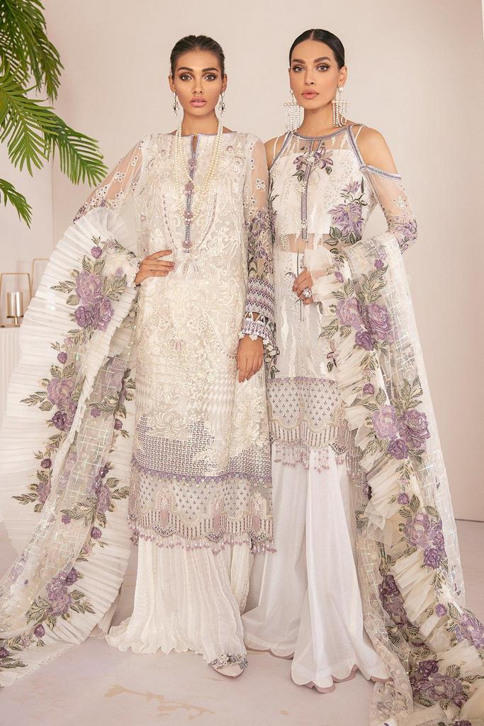 BAROQUE | Chantelle Embroidered Collection | FLO WHITE