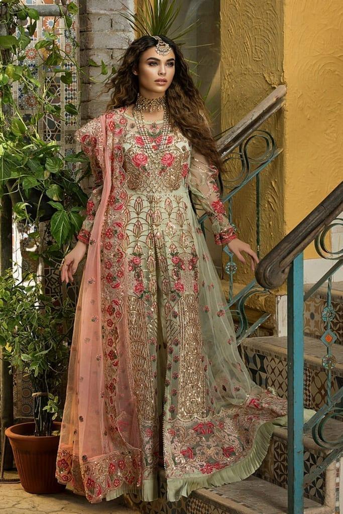 ASIFA & NABEEL | ZAH-E-NASEEB WEDDING Collection | INARA ZN-01