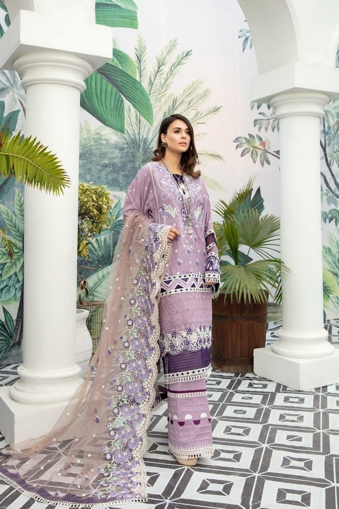 ADANS LIBAS | SHIFFLI EMBROIDERED SUMMER Collection | FLORA-SOME
