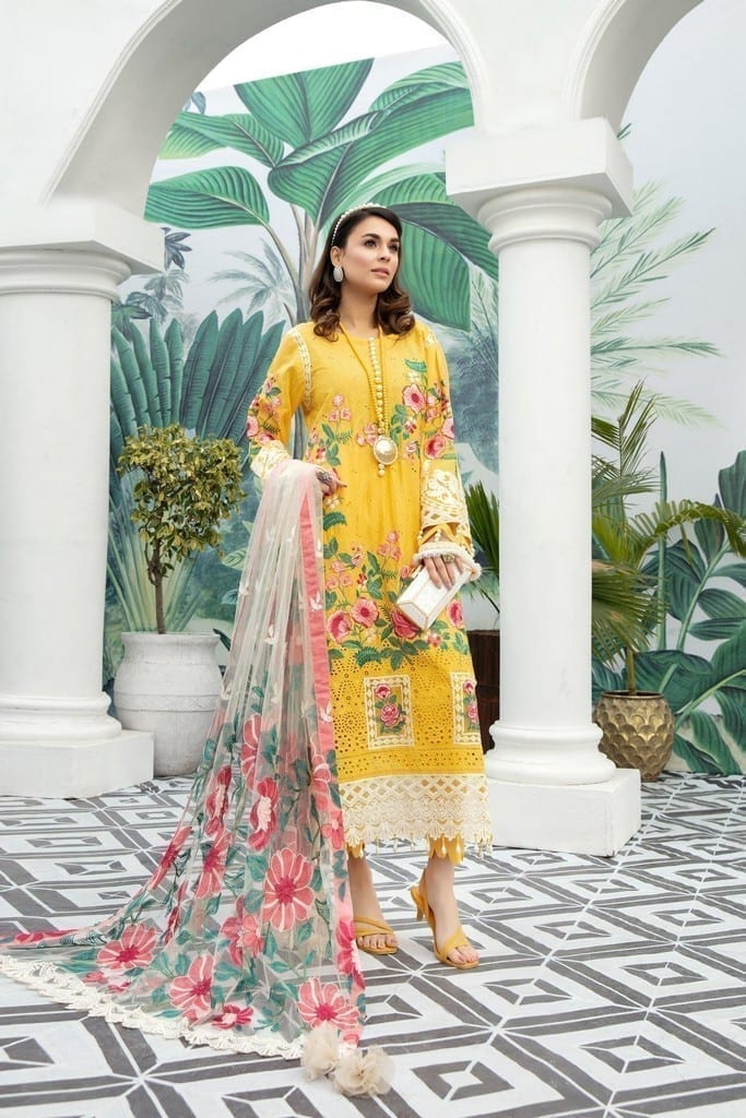 ADANS LIBAS | SHIFFLI EMBROIDERED SUMMER Collection | HONEYCOMB HEAVEN