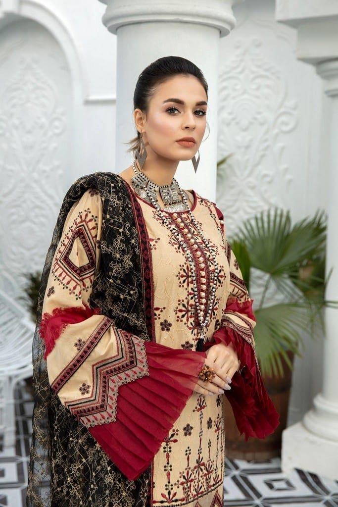 ADANS LIBAS | SHIFFLI EMBROIDERED SUMMER Collection | ETHNIC LOOKS