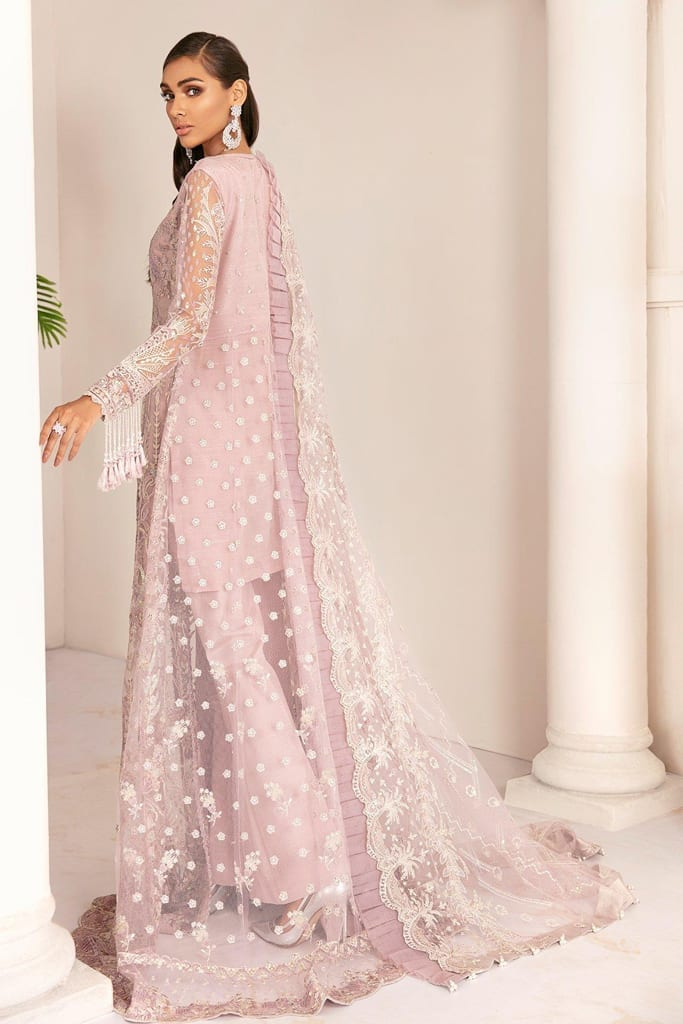 BAROQUE | Chantelle Embroidered Collection | PINK SALT