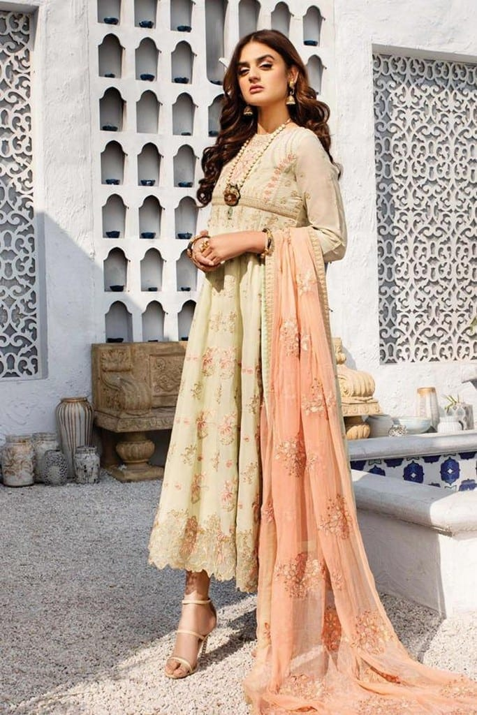 SERENE NORANG | PREMIUM EMBROIDERED Collection | GULAAL | D-01