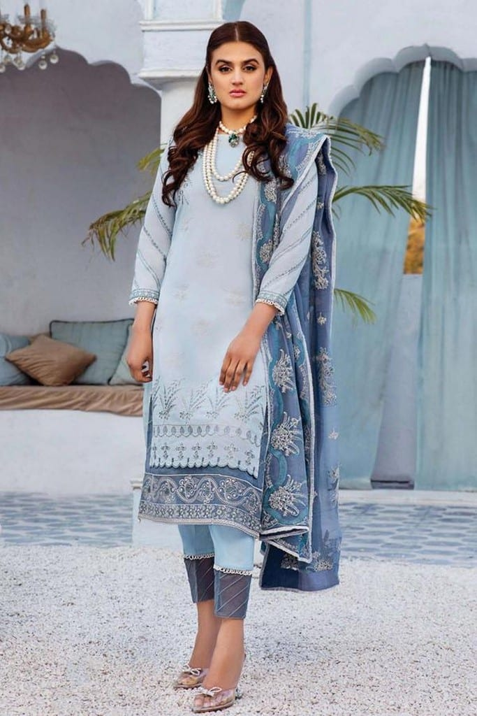 SERENE NORANG | PREMIUM EMBROIDERED Collection | ZEBAISH | D-10