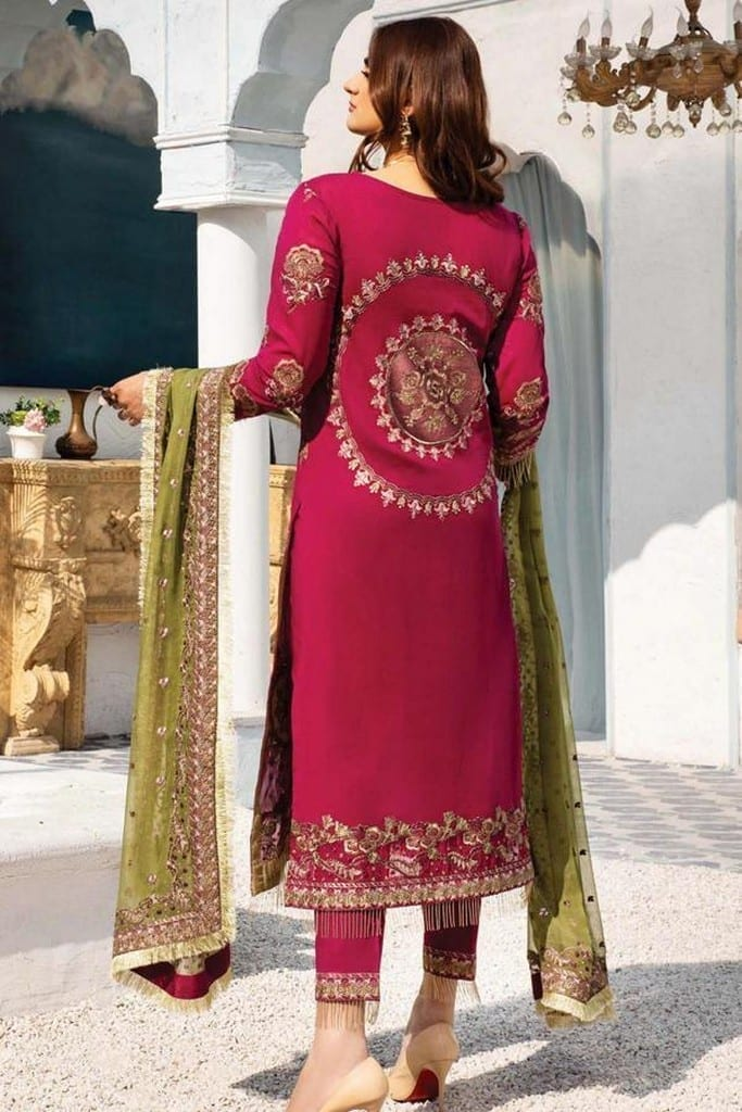 SERENE NORANG | PREMIUM EMBROIDERED Collection | HURREM | D-11