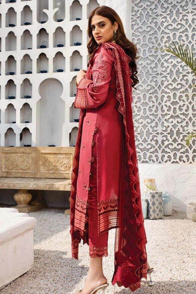 SERENE NORANG | PREMIUM EMBROIDERED Collection | AZAL | D-02