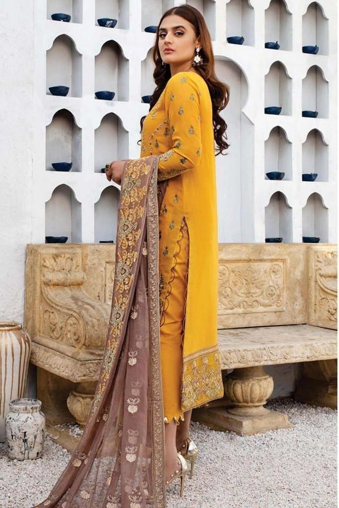 SERENE NORANG | PREMIUM EMBROIDERED Collection | JASMINE | D-06