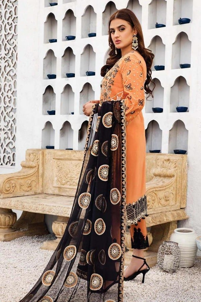 SERENE NORANG | PREMIUM EMBROIDERED Collection | KAYSER | D-08