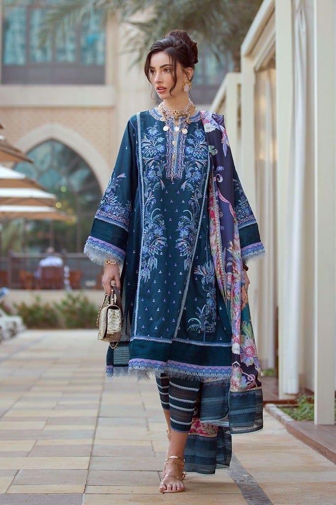FARAH TALIB AZIZ | NERA SPRING/SUMMER Collection | KAIA TEAL FTA-11