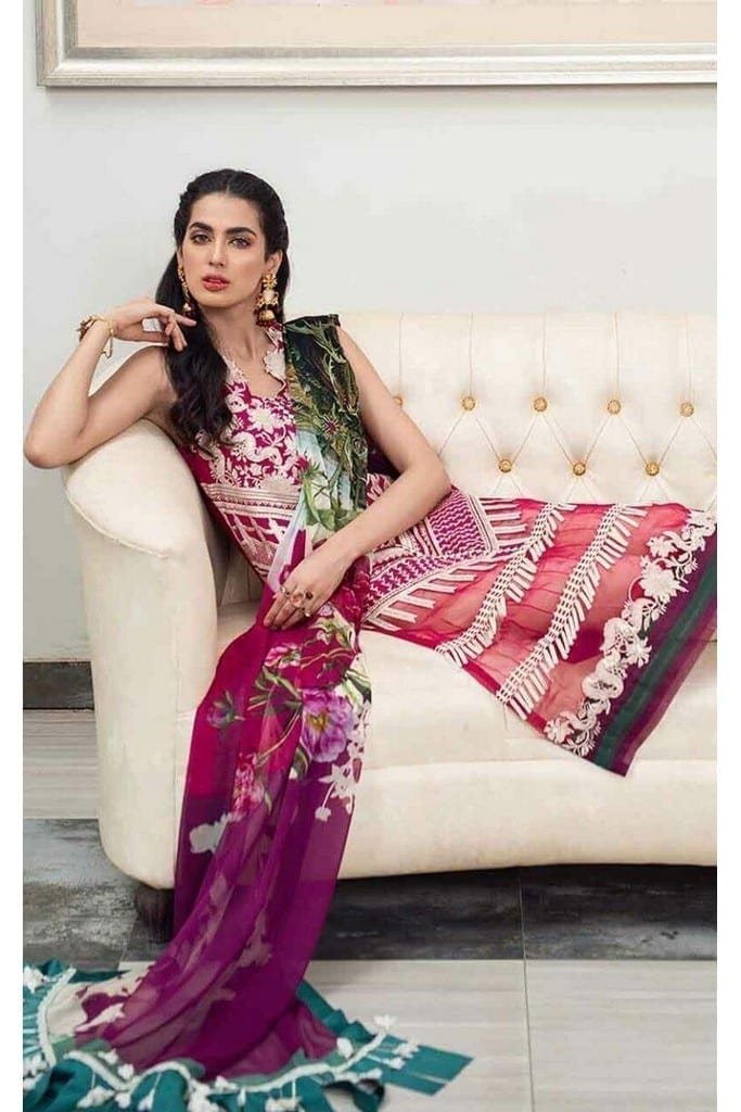 ASIFA N NABEEL | LUXURY LAWN Collection | 2-H FASCINATION
