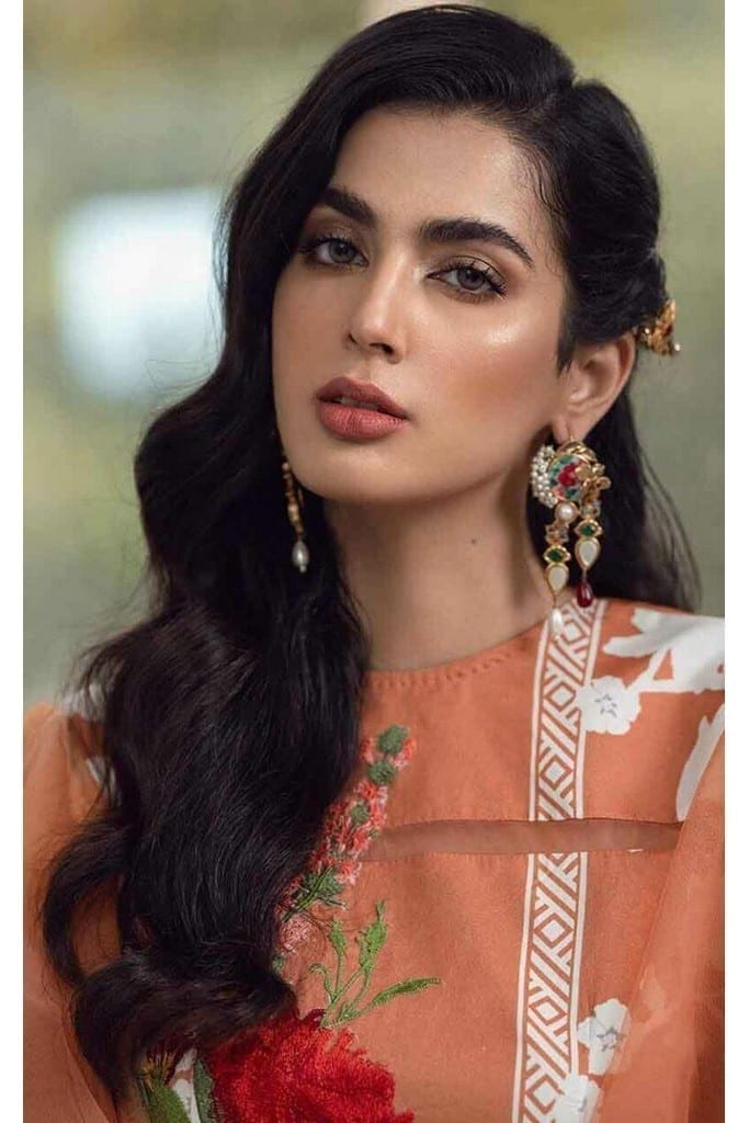 ASIFA N NABEEL   LUXURY LAWN Collection   99-R ROSE