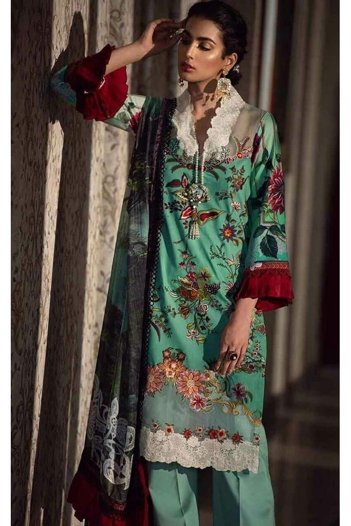 ASIFA N NABEEL | LUXURY LAWN Collection | 15-L LADIES