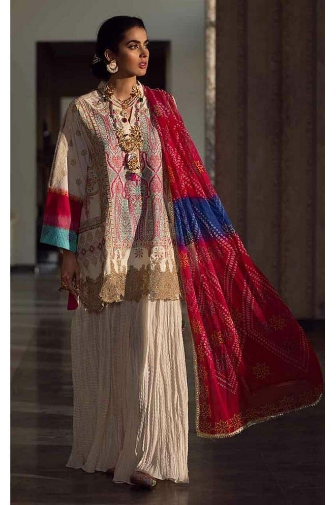 ASIFA N NABEEL | LUXURY LAWN Collection | 6-C SUMMER