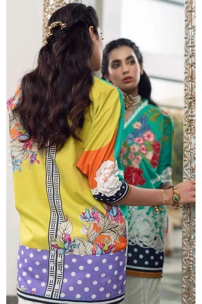 ASIFA N NABEEL   LUXURY LAWN Collection   3-P SWEET SUCCESS