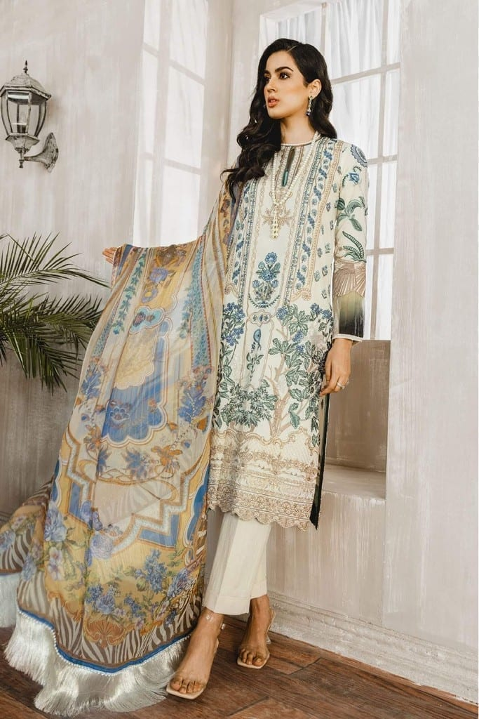 MARYUM N MARIA | Embroidered Lawn | All love (ML-04)