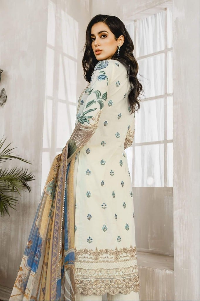 MARYUM N MARIA   Embroidered Lawn   All love (ML-04)