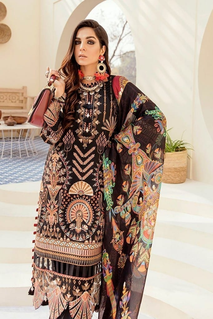 AFROZEH | LUXURY SUMMER Collection | MAJESTIC RAVEN