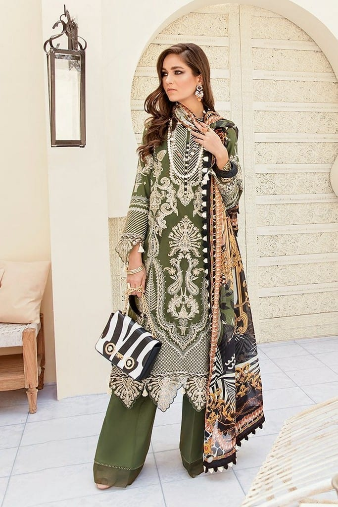 AFROZEH | LUXURY SUMMER Collection | LEAFY GREENS