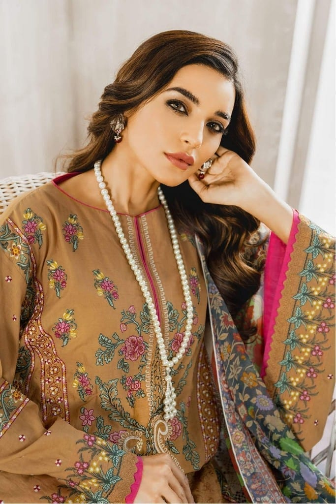 MARYUM N MARIA | Embroidered Lawn | Mistical Grace (ML-02)