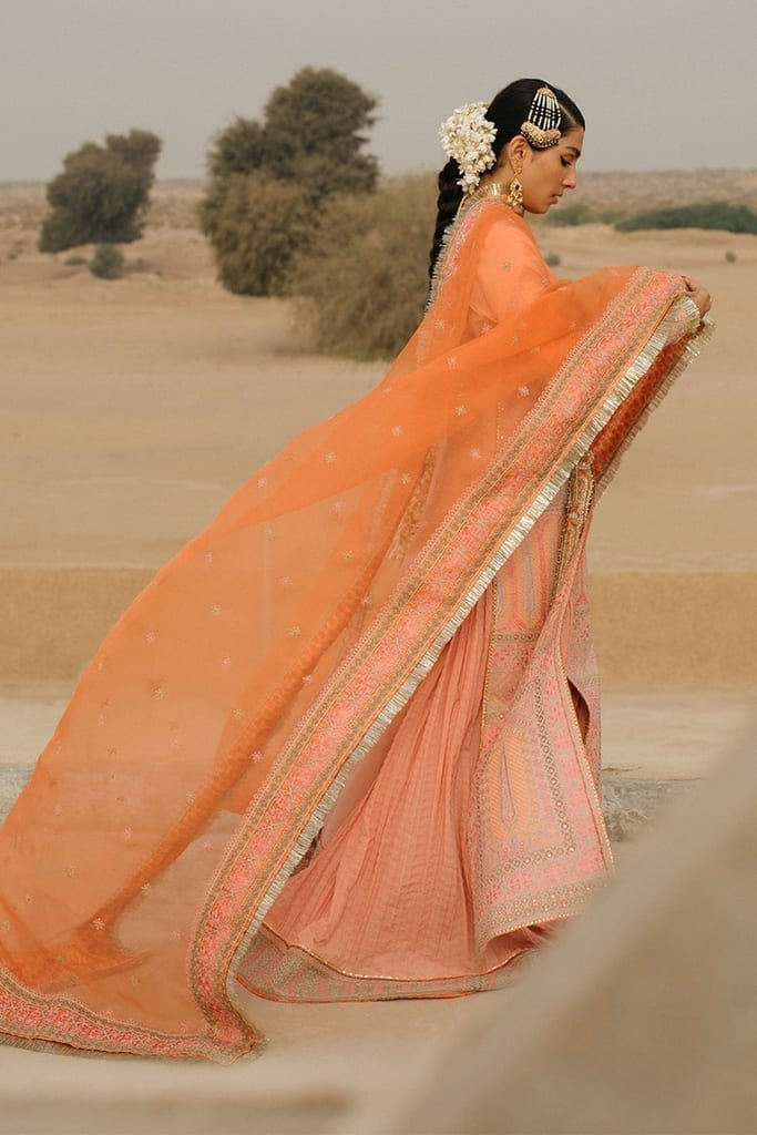 HUSSAIN REHAR | ROOHI DE NAAL Collection | Kali (Light Pink)