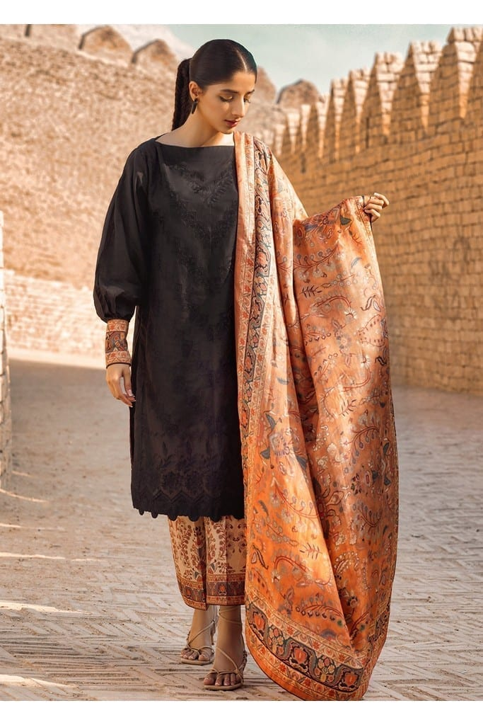 TENA DURRANI | Embroidered Lawn Suits | Eclipse
