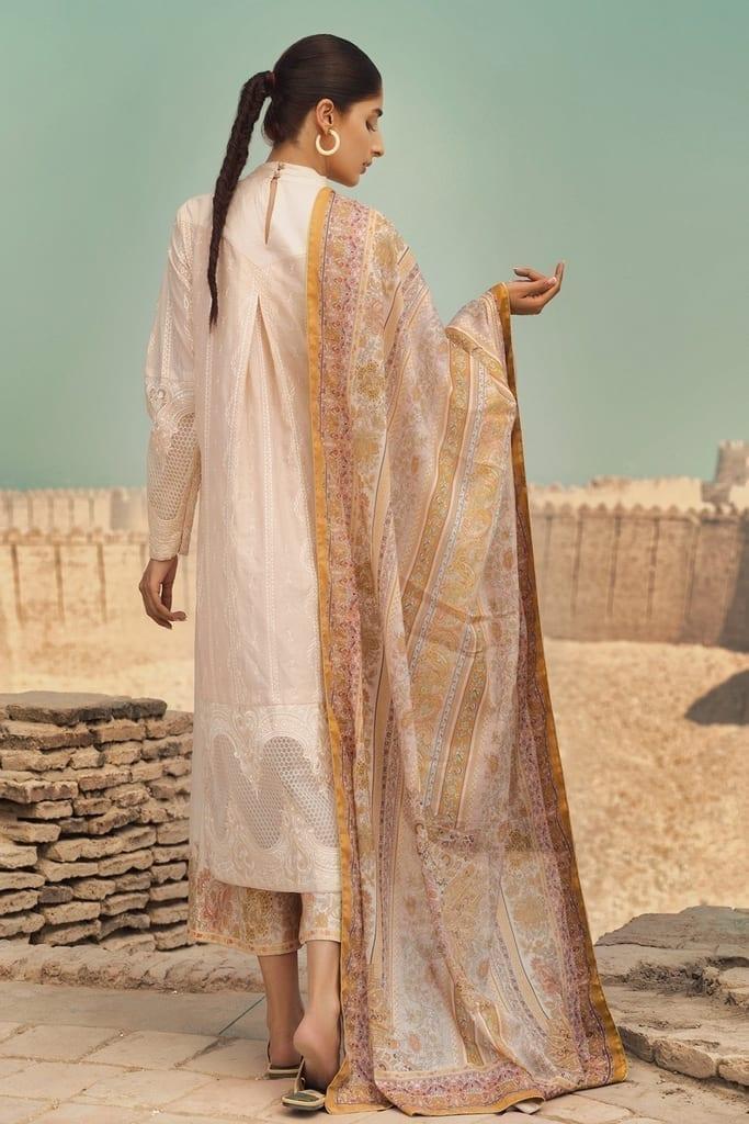 TENA DURRANI   Embroidered Lawn Suits   Angora