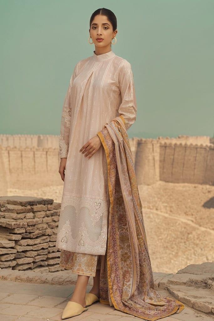 TENA DURRANI | Embroidered Lawn Suits | Angora