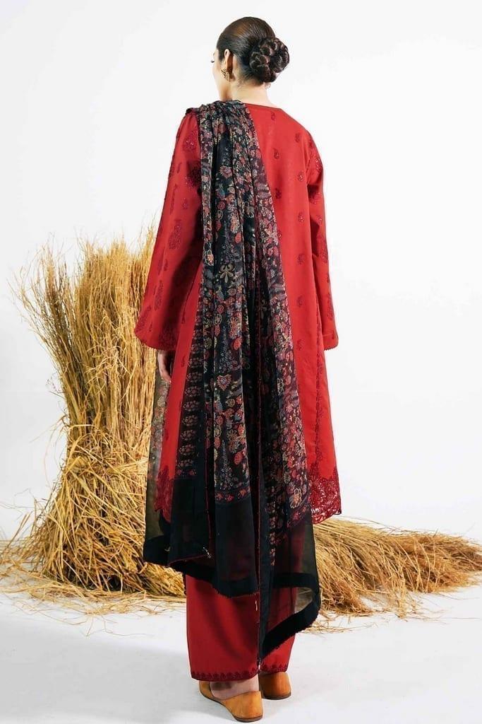 ZARA SHAHJAHAN   Embroidered Lawn Suits   ARJUMAND-B