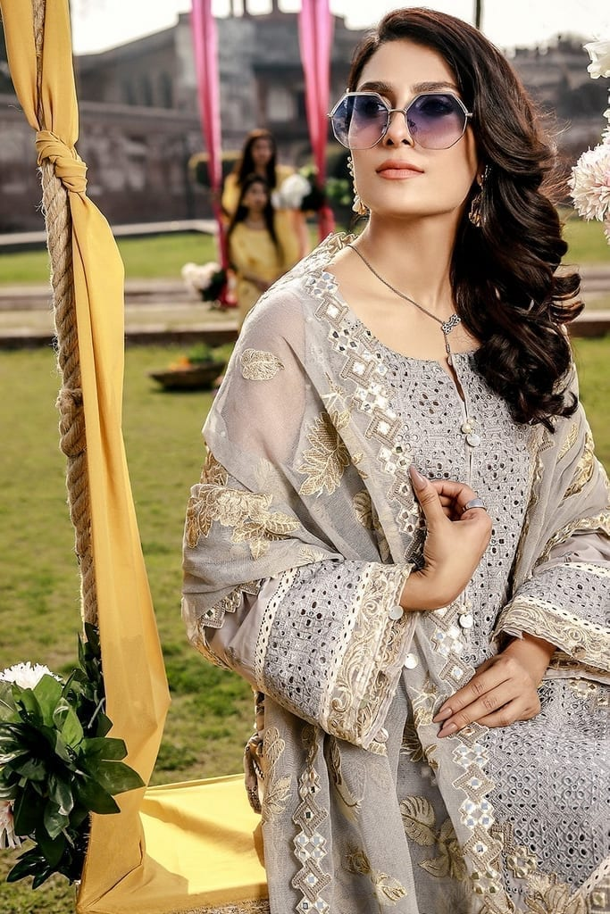 ELAF | Festive Collection | EPL 3B - Thistle Opulence