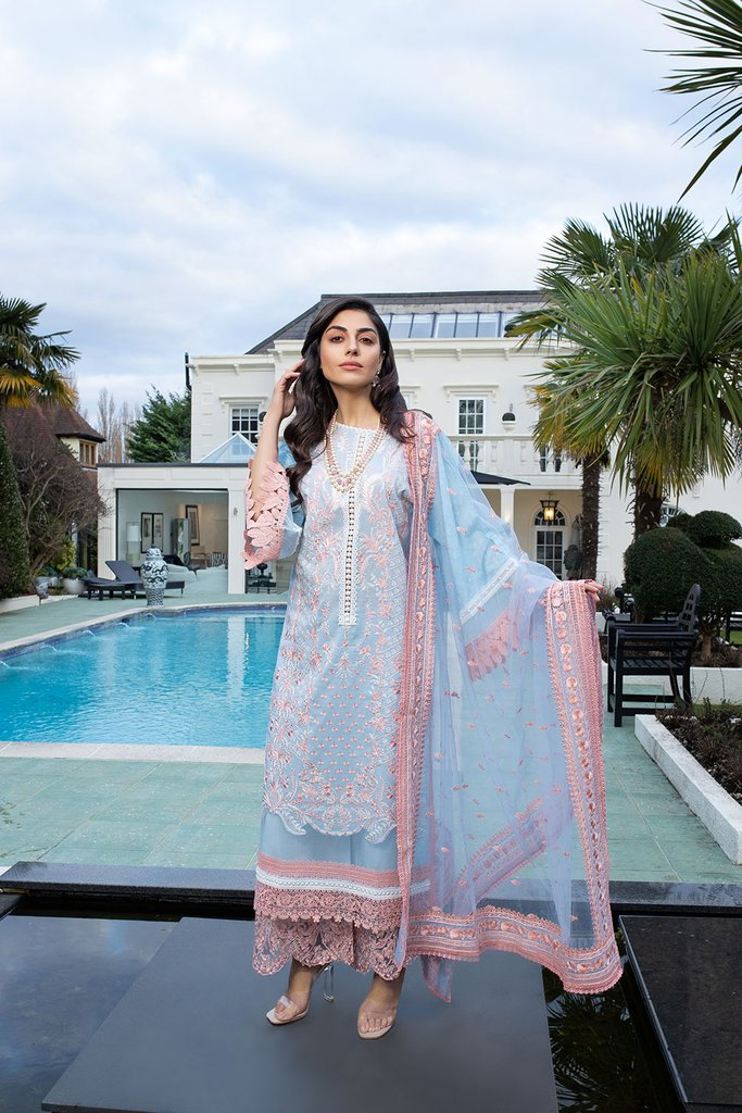 SOBIA NAZIR   LUXURY LAWN Collection   DESIGN 12A