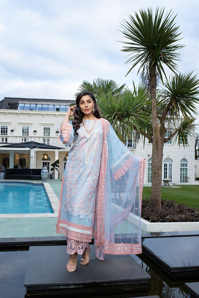 SOBIA NAZIR | LUXURY LAWN Collection | DESIGN 12A