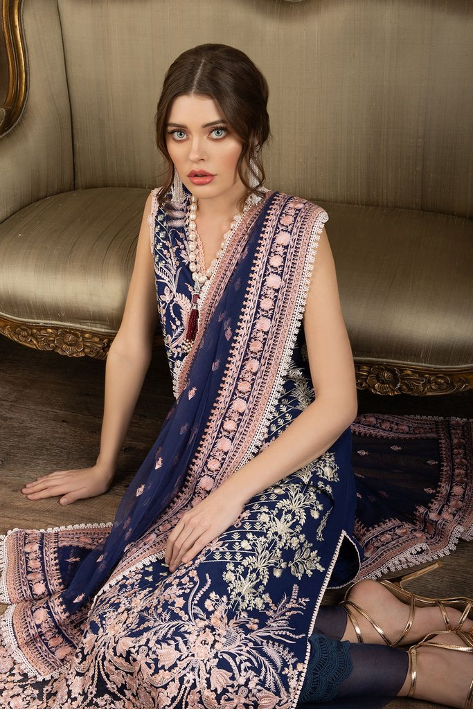 SOBIA NAZIR   LUXURY LAWN Collection   DESIGN 12B