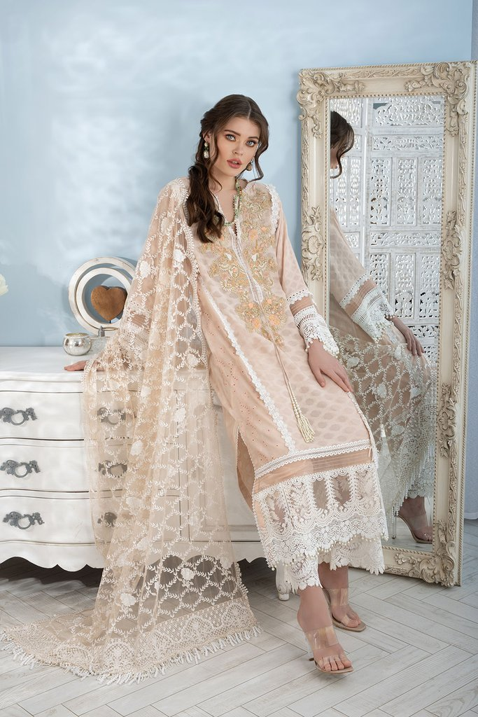 SOBIA NAZIR   LUXURY LAWN Collection   DESIGN 15A