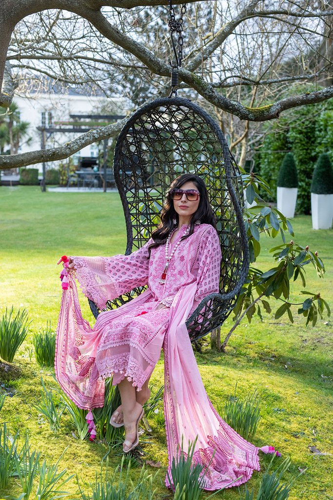 SOBIA NAZIR   LUXURY LAWN Collection   DESIGN 4A