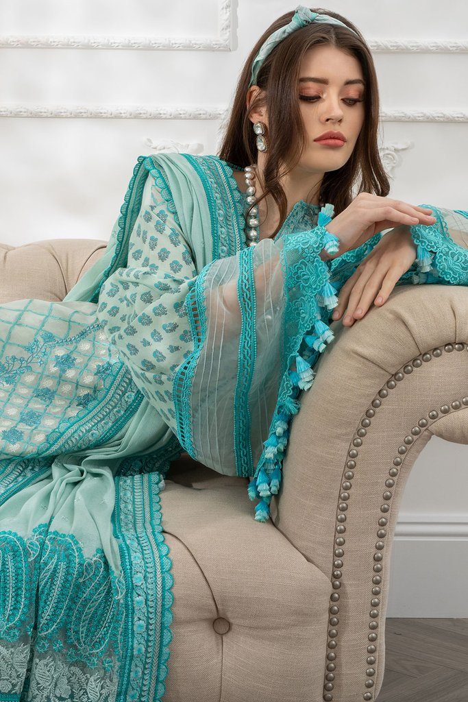 SOBIA NAZIR | LUXURY LAWN Collection | DESIGN 4B