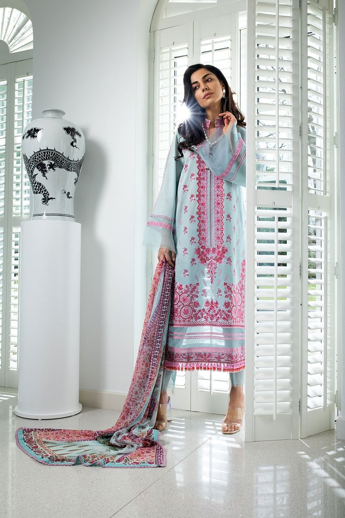 SOBIA NAZIR   LUXURY LAWN Collection   DESIGN 5B