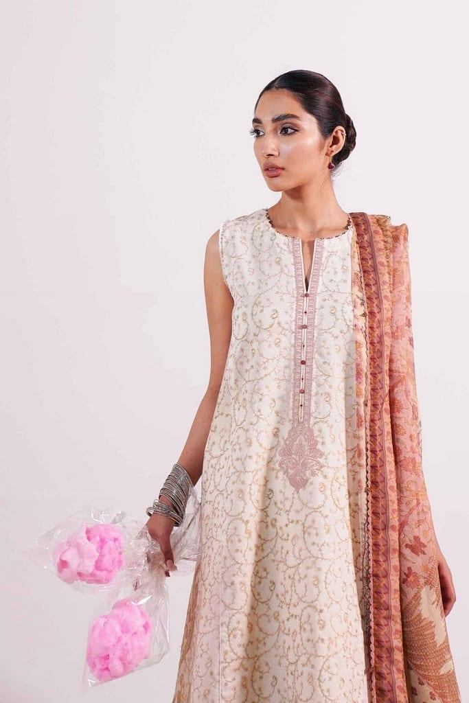 ZARA SHAHJAHAN | Embroidered Lawn Suits | MEHAR-B