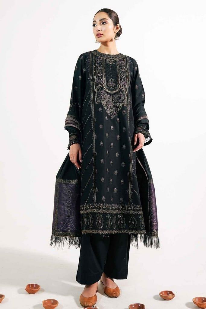 ZARA SHAJAHAN | Embroidered Lawn Suits | ZS21L 30 NOORI-B