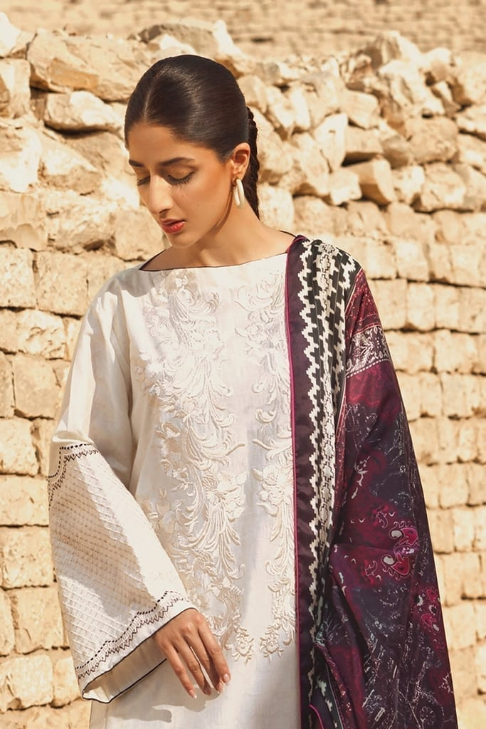 TENA DURRANI   Embroidered Lawn Suits   Port Royale