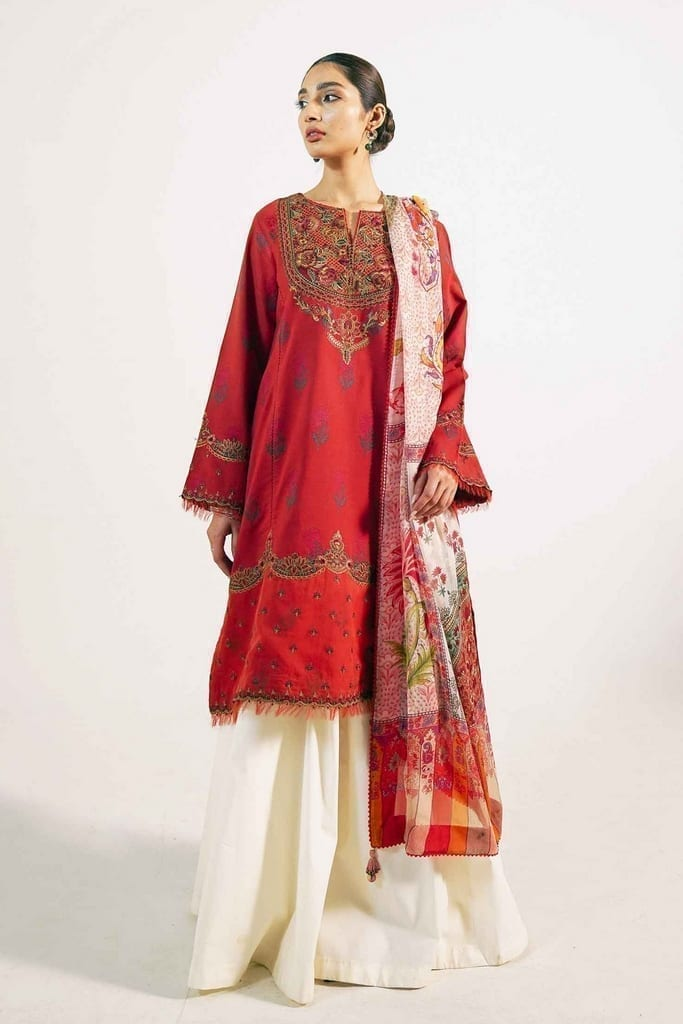 ZARA SHAJAHAN | Embroidered Lawn Suits | ZS21L 19 Preet-A