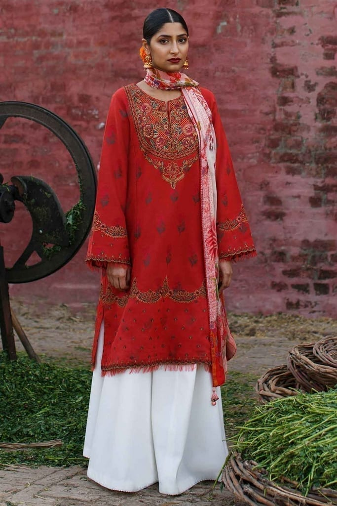 ZARA SHAJAHAN   Embroidered Lawn Suits   ZS21L 19 Preet-A