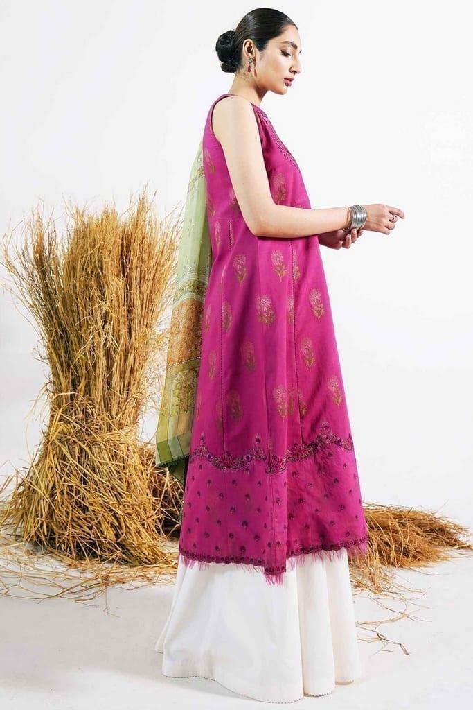 ZARA SHAHJAHAN   Embroidered Lawn Suits   PREET-B